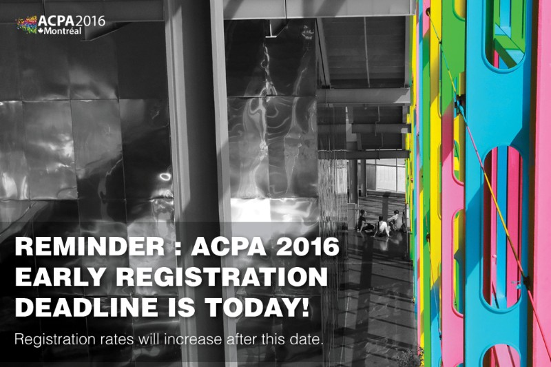 ACPA Early Reg.